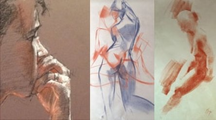 best art workshops figure life drawing models nudes painting and drawing